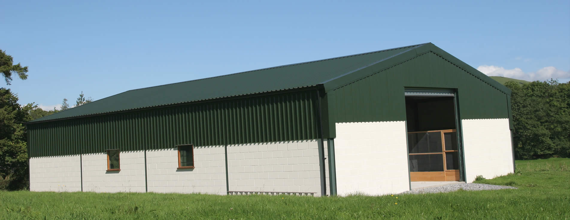 Cladding solutions for agricultural buildings, storage facilities and commercial/industrial buildings